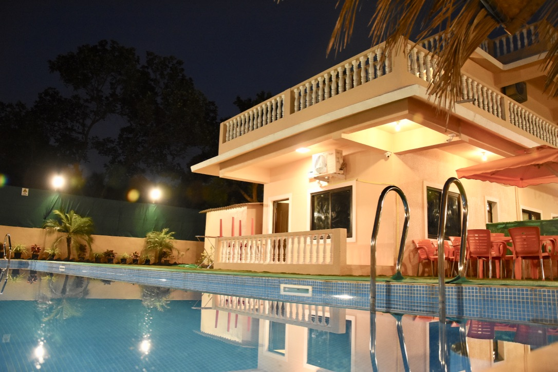 luxury villa goa